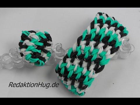 Loom Bands mit Rainbow Loom Anleitung Deutsch D 5