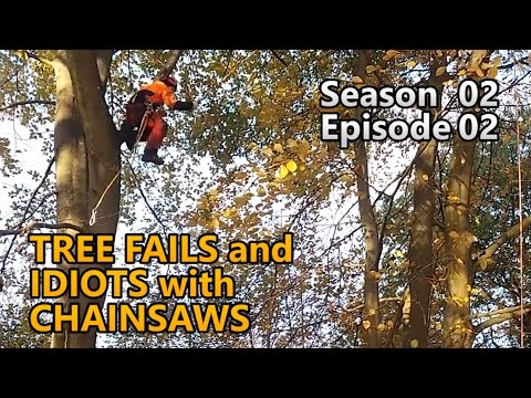 Chainsaw Fail And Tree Cutting Idiots - S02e02 - Fail Compilation