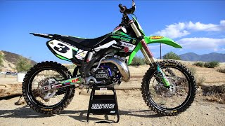 6. Tricked out 2003 Kawasaki KX250 2 Stroke - HARDWARE