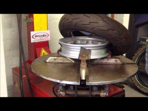 rim tyre - Fitting a tyre, to a SIP tubeless rim for Lambretta or Vespa. Sticky Tyres stock all leading brands of scooter tyres and fit to SIP tubeless rims, We can sup...