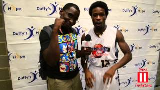 Shameik Moore Interview at Duffy's Hope Celebrity Basketball Game 2015