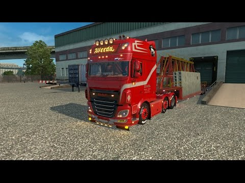 DAF XF 106 Weeda + D-TEC Container Pack