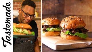 Gourmet Sloppy Joe (Jerk Pork) | The Tastemakers-Marcus Meacham by Tastemade
