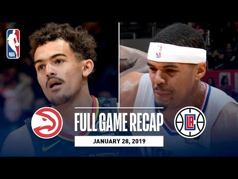 Video: Full Game Recap: Hawks vs Clippers | Trae Young Goes For 26 & 8