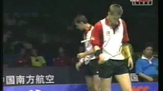 Video 2002 Thomas Cup SF Chandra and Sigit vs Eriksen and Lungard MP3, 3GP, MP4, WEBM, AVI, FLV Mei 2018