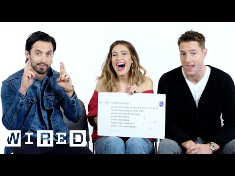 This Is Us Cast Answers the Web's Most Searched Questions | WIRED