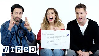 Video This Is Us Cast Answers the Web's Most Searched Questions | WIRED MP3, 3GP, MP4, WEBM, AVI, FLV Maret 2018