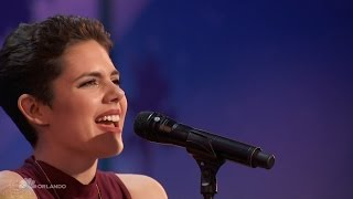 Video Americas Got Talent 2016 Calysta Bevier Emotional Songstress Full Audition Clip S11E04 MP3, 3GP, MP4, WEBM, AVI, FLV Juni 2018