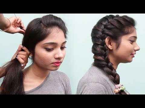 Side braid hairstyles for teenage girls  2018 Hairstyles  Cute Girls Hairstyles  Hair style girl