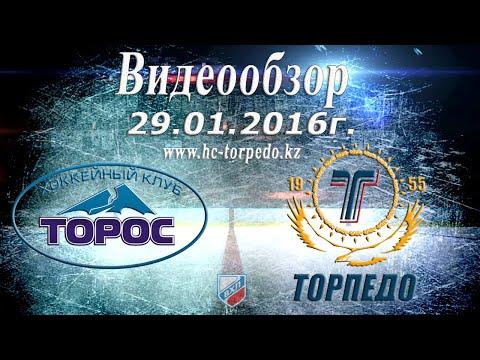29.01.2016 | Торос - Торпедо 5-2 (видео)