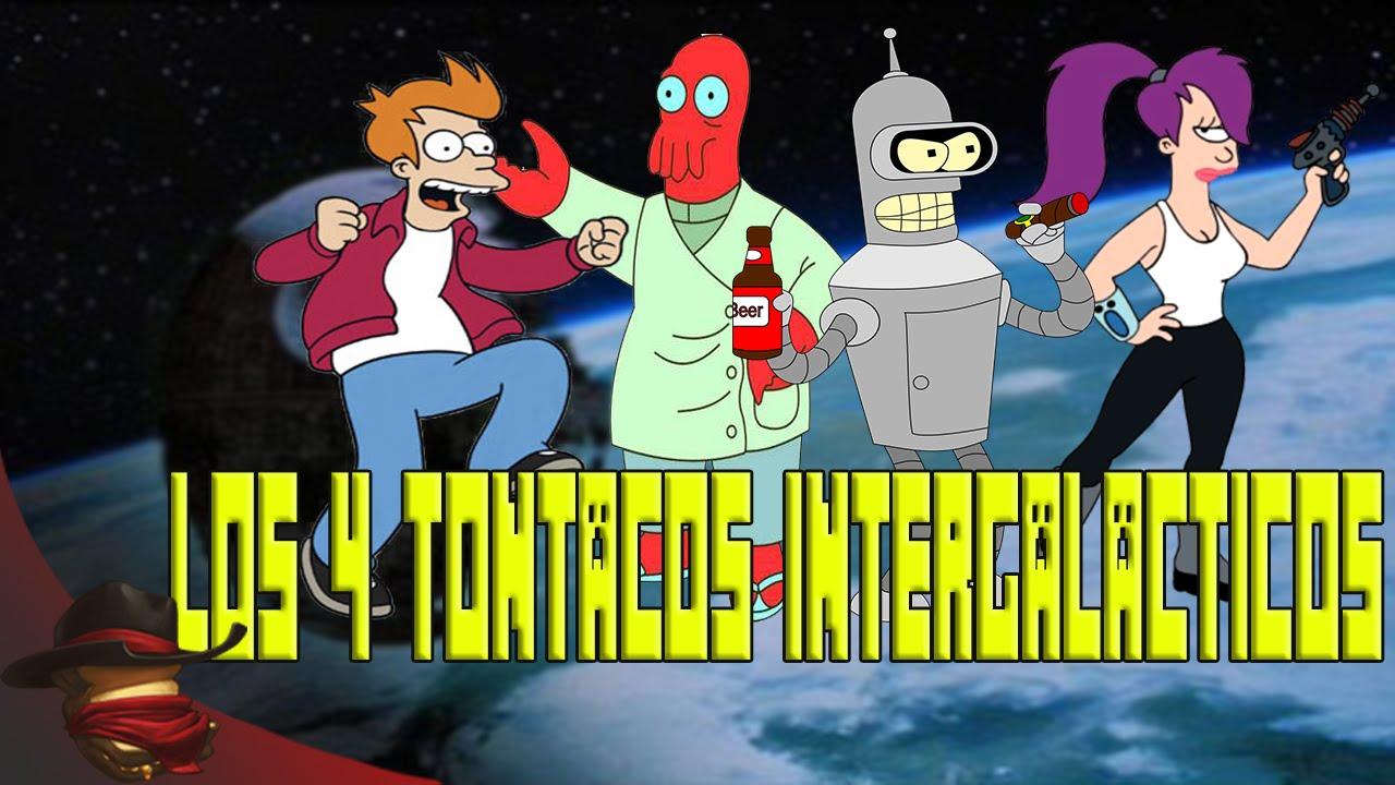 Los 4 Tontacos Intergalacticos | Con Sara, Luh yExo