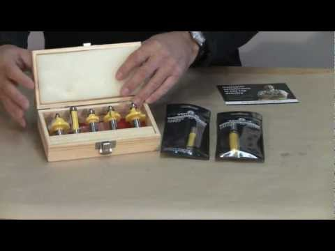 Router Bit Review - A woodworkweb.com woodworking video