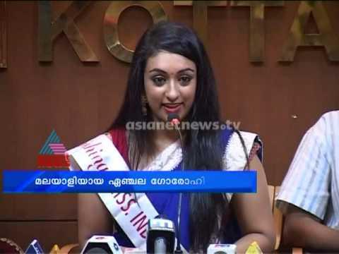 washington - Miss India washington and Malayalee Angela likes acting in malayalam films.