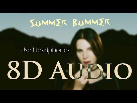 Lana Del Rey - (8D Audio) Summer Bummer ft  A$AP Rocky, Playboi Carti