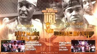 Ultimate Rap League | Hitman Holla vs. Conceited