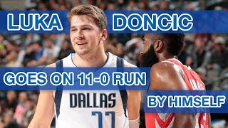 Video How Luka Doncic went on his own 11-0 run to help beat the Rockets MP3, 3GP, MP4, WEBM, AVI, FLV Desember 2018