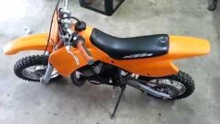7. 1997 KTM 50 SXR PRO JR