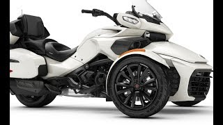10. 2018 Can Am Spyder F3 Limited | Full Details Can Am Spyder F3 White