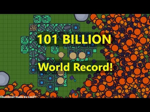 Zombs.io - WORLD RECORD (101B SCORE) | Best Base Ever! Bryan Smith