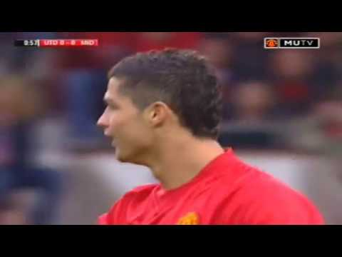 Cristiano Ronaldo Vs Middlesbrough Home (27-10-2007)