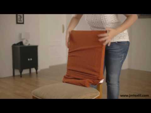 Fodera sedia con schienale