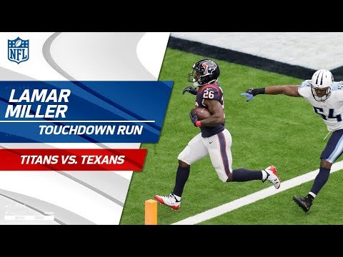 Video: Deshaun Watson's Dart Leads to Lamar Miller's TD Run! | Titans vs. Texans | NFL Wk 4 Highlights