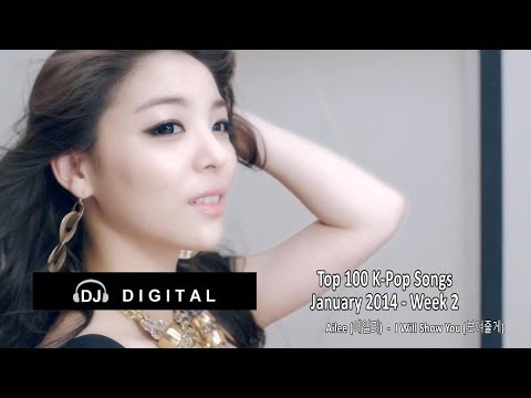 Top 100 K-Pop Songs for January 2014 Week 2