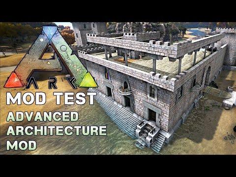 ARK: MOD TEST ★ #01 - Advanced Architecture Mod 1/2 [Deutsch | Epic Graphic]