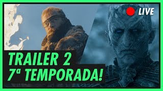 Venha saber tudo sobre o novo trailer da sétima temporada de Game of Thrones! Playlist de GoT http://bit.ly/playlistgot Canal da Miriam! http://bit.ly/mikannn ...