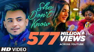 Video She Don't Know: Millind Gaba Song | Shabby | New Hindi Song 2019 | Latest Hindi Songs MP3, 3GP, MP4, WEBM, AVI, FLV September 2019