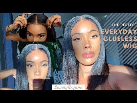 The Perfect Everyday Glueless HD Lace Wig |EvaWig x LovelyBryana