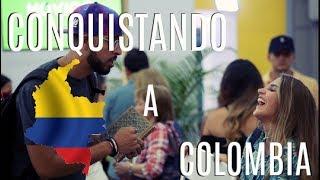 Conquistando a colombianas usando música popular de Colombia. Camisa y Gorra: Status Wear Co. Grabado por: WAV Creative Bureau Drone Shots: Phone ...