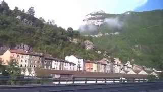 Annemasse France  city pictures gallery : Amberieu - Bellegarde - Annemasse Train Ride (FRANCE)