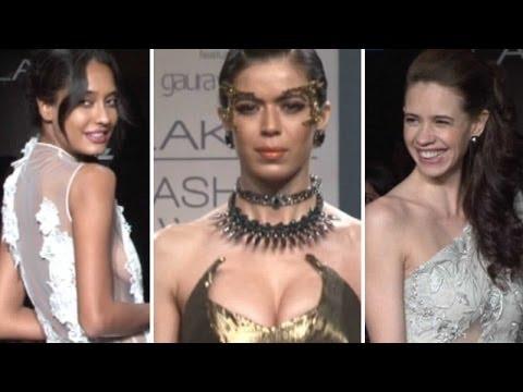 Lakme Fashion Week: Fashion Frenzy On The Ramp Wit