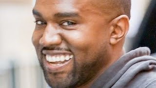 Kanye West Being Happy