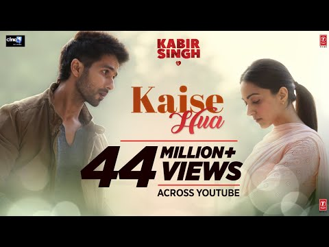 Kabir Singh : Kaise Hua Song | Shahid K, Kiara A, Sandeep V | Vishal Mishra, Manoj Muntashir