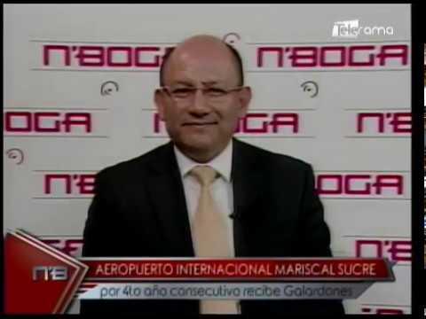 Aeropuerto Internacional Mariscal Sucre por 4to año consecutivo recibe galardones