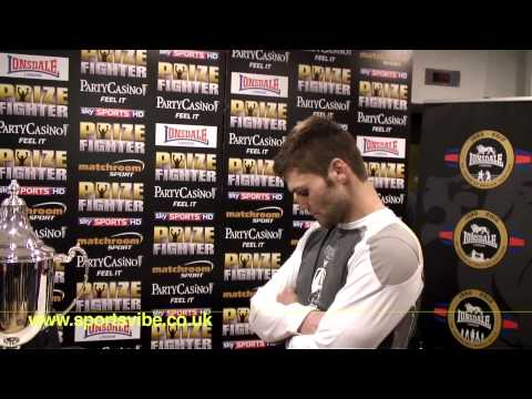 Prizefighter weigh-in