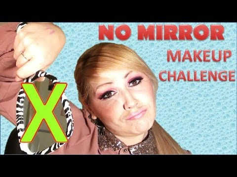 marisolguerita - NO MIRROR MAKEUP CHALLENGE Hola amigas este es el reto del maquillarme sin espejo , es un tag muy famoso , en yt, espero que les guste el video gracias por s...