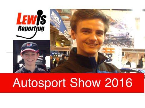 Aiden Moffat - Laser Tools Racing BTCC - Autosport Show 2016