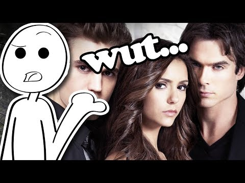 Vampire Diaries is pretty dumb...