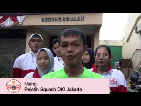 Persiapan PON Squash DKI Jakarta