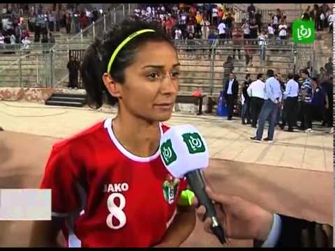 Jordan's Women's Soccer team into the Asian Cup Finals