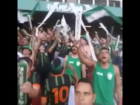 A minha vida sempre foi o verde e preto (Anunciação) - AMERICA 2 x 0 cruzeiro - Barra Una - América Mineiro