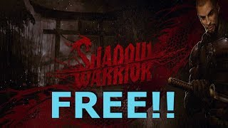 Shadow Warrior is freeware for a limited time. Grab the full first-person shooter game from HumbleBundle.com!