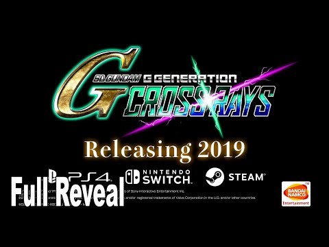 SD Gundam G Generation Cross Rays - Extended Reveal Trailer [HD 1080P/English]