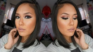 """Here's the look you've been going gaga for on IG, a romantic rosy eye with some dramatic liner action ;) using the social-media loved Jaclyn Hill Favorites paletteI hope y'all like it! :) review on this palette here: http://youtu.be/gZcQO5YSLSILIKE and SUBSCRIBE and be BESTIES with meeehttp://www.youtube.com/subscription_center?add_user=naohms◢ MY LATEST VIDEOS:⦿ ermergerd! I made a vlogging channel! http://youtu.be/bdVG-D_025s⦿ Soft Purple Smoky Eye, Pink Lips http://youtu.be/1PPXW9ngjZ8⦿ My First Q+A! http://youtu.be/8bMPRDMS4P8◢ LET'S BE FRAANDS!⦿ My Vlog Channel: https://www.youtube.com/channel/UCv8Nkma9xOEbPyxJa7NYkyw⦿ Email (Business Only): love2primp@gmail.com⦿ Instagram: http://instagram.com/naohms⦿ Blog: http://love2primp.org⦿ Twitter: http://twitter.com/naohms⦿ Facebook: http://facebook.com/love2primp⦿ Snapchat: ohsnapnaohms===================================◢ PRODUCTS USED: NARS Smudge Proof Eyeshadow Base http://bit.ly/1pmJVCEMorphe Jaclyn Hill Favorites Palette (coming soon) http://bit.ly/1vk71ynInglot Gel Liner 77 https://bit.ly/1E5QNsnTarte Inner Rim Brightener http://bit.ly/1zBKPRiDior Iconic Overcurl mascara http://bit.ly/1B47LK5Mink Wink lashes """"Mademoiselle"""" http://bit.ly/17vVelhNYX Highlight and Contour Pro Palette http://bit.ly/1B47vKQMUG blush """"Infatuation"""" http://bit.ly/1vk75OCBecca highlighter """"Moonstone"""" http://bit.ly/1ymOUmSMAC lip liner """"Edge to Edge"""" http://bit.ly/1s8LPJGAnastasia Beverly Hills Liquid Lipstick """"Pure Hollywood"""" http://bit.ly/17vVQHB◢ TOOLS USED: Morphe M124 Firm Shadow http://bit.ly/1hBapZzMUG Soft Dome brush http://bit.ly/1sweKDabdellium tools 765 Small Angled Shader https://bit.ly/1vk7kJqMUG eye blender brush http://bit.ly/1m98HVwUrban Decay Good Karma Shadow brush http://bit.ly/17vWhSmStarlooks Slanted Liner brush http://bit.ly/17vWEwcSigma E20 Short Shader http://bit.ly/1ymNTeoUrban Decay Good Karma Multi Tasker brush http://bit.ly/1vk7ukeMUG Rounded Blush Brush http://bit.ly/1wF4q1Mbdellium All Purpose Blusher 964 htt"""
