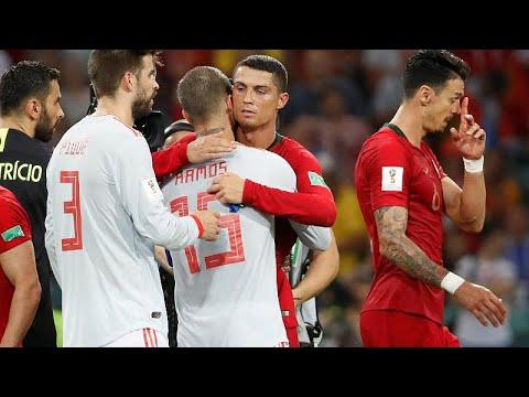 Fußball-WM: Spanien und Portugal trennen sich 3:3 une ...
