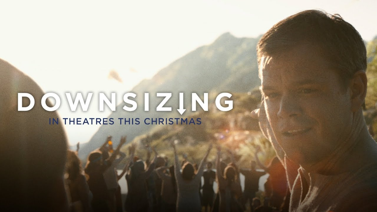 Matt Damon's life is Meant for Something Better in 'Downsizing' (Trailer) featuring Christoph Waltz, Jason Sudeikis & Ensemble Cast
