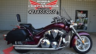 1. Used 2011 Honda Interstate 1300 For Sale - Cobra Exhaust / Saddlebags + More